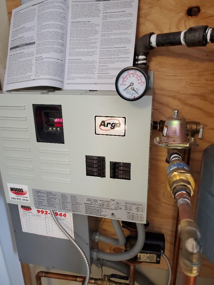 Roanoke, VA - Boiler problem