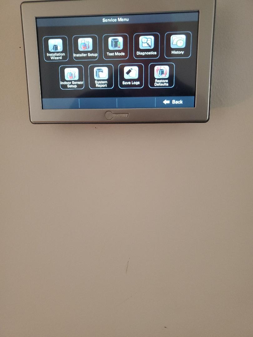Buchanan, VA - Thermostat problem