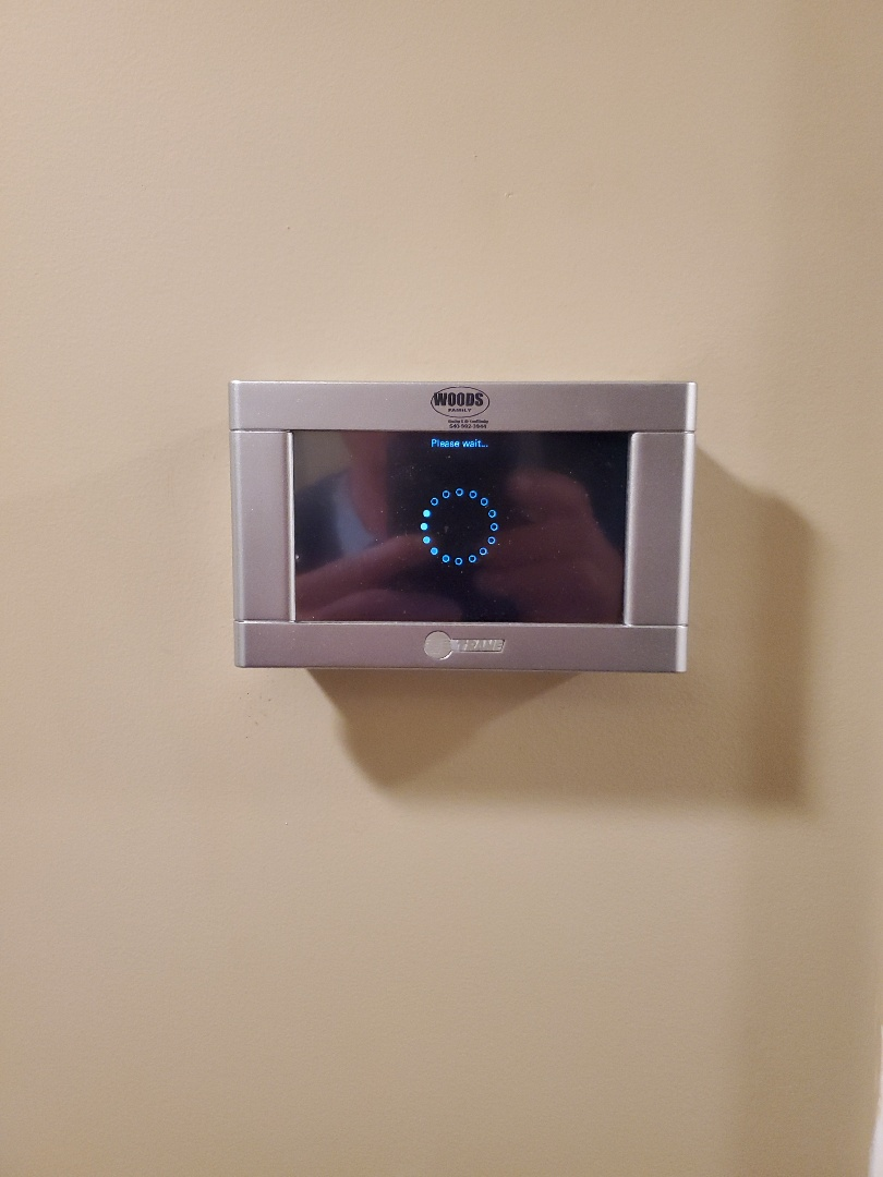 Moneta, VA - New thermostat