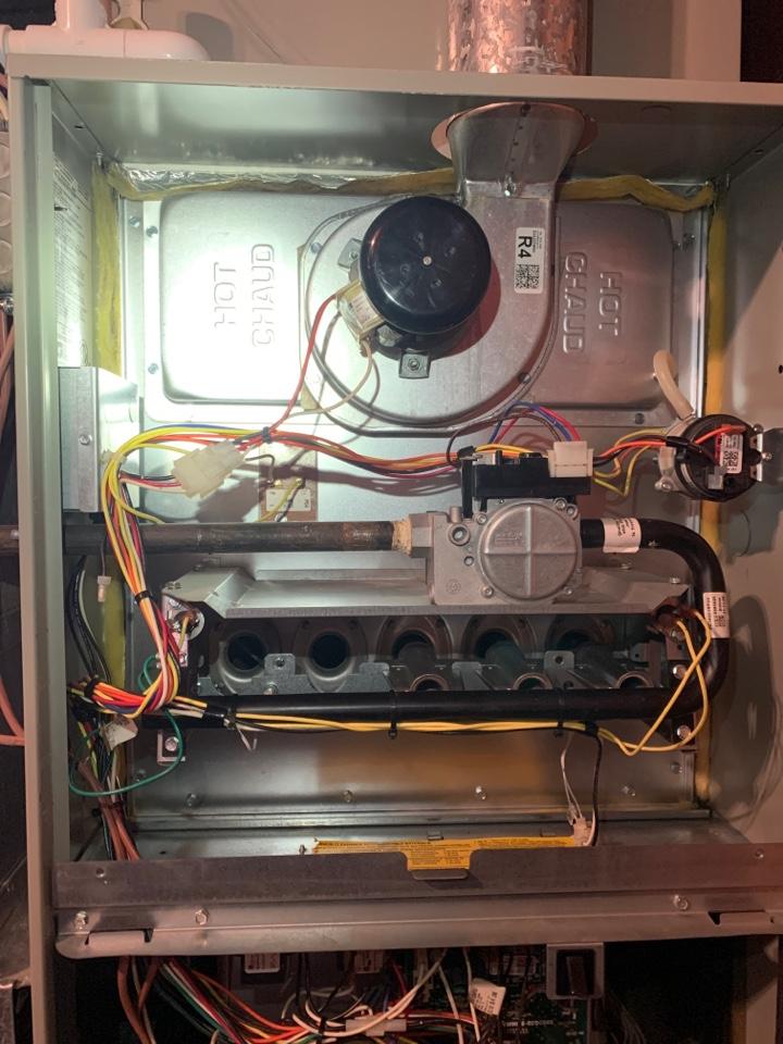 Roanoke, VA - Trane gas furnace service in Roanoke va 24019