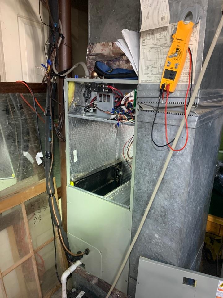 Salem, VA - Trane heat pump service Salem va 24153