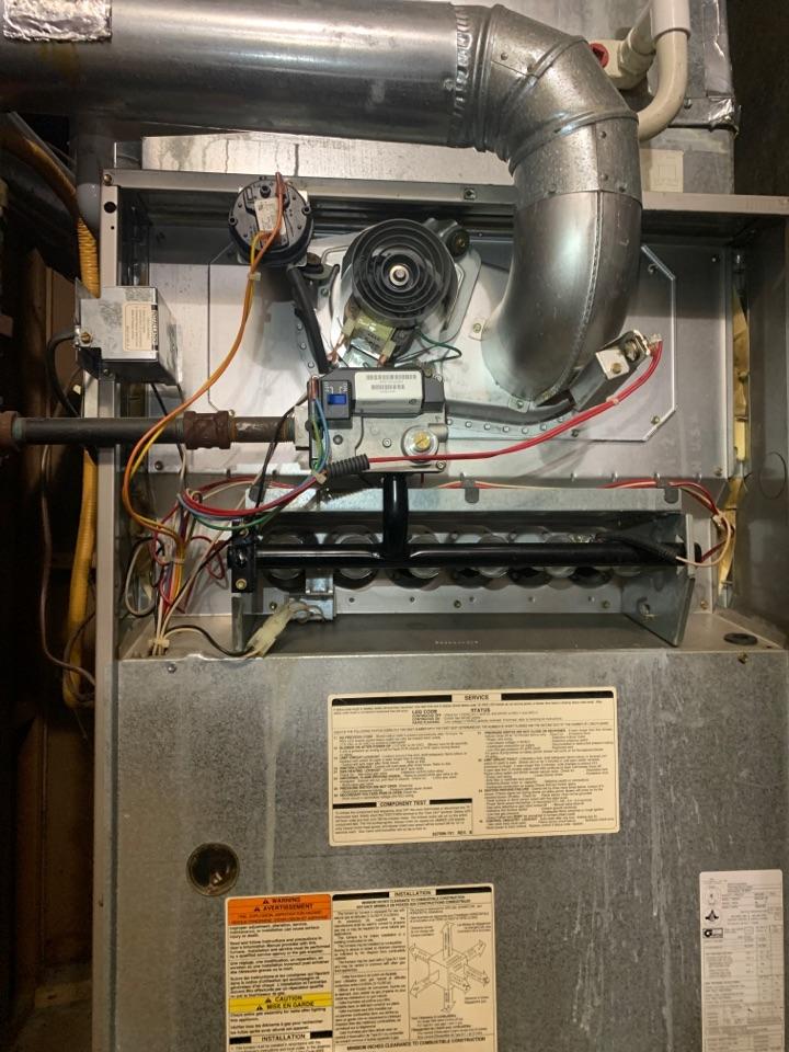 Carrier gas furnace service in Salem va 24153