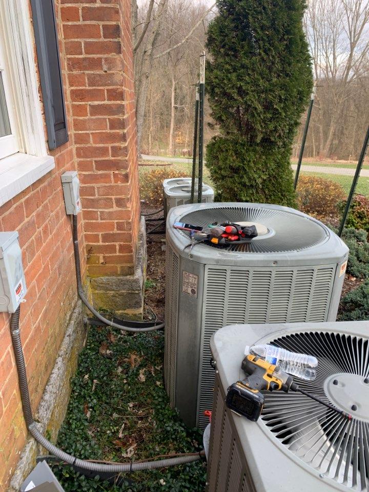 Troutville, VA - Trane and lennox heat pump maintenance in troutville va