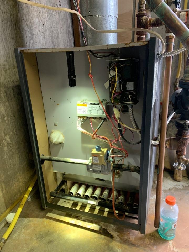 Salem, VA - Gas boiler maintenance done in Salem va 24153