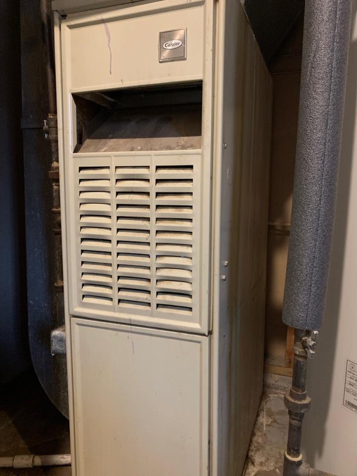 Hollins, VA - Service call carrier gas furnace Roanoke va 24019
