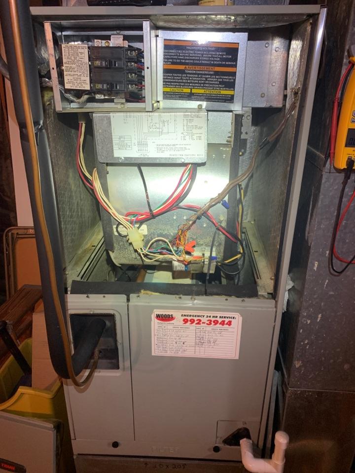 Hollins, VA - Trane air handler heat pump maintenance in Roanoke va 24019