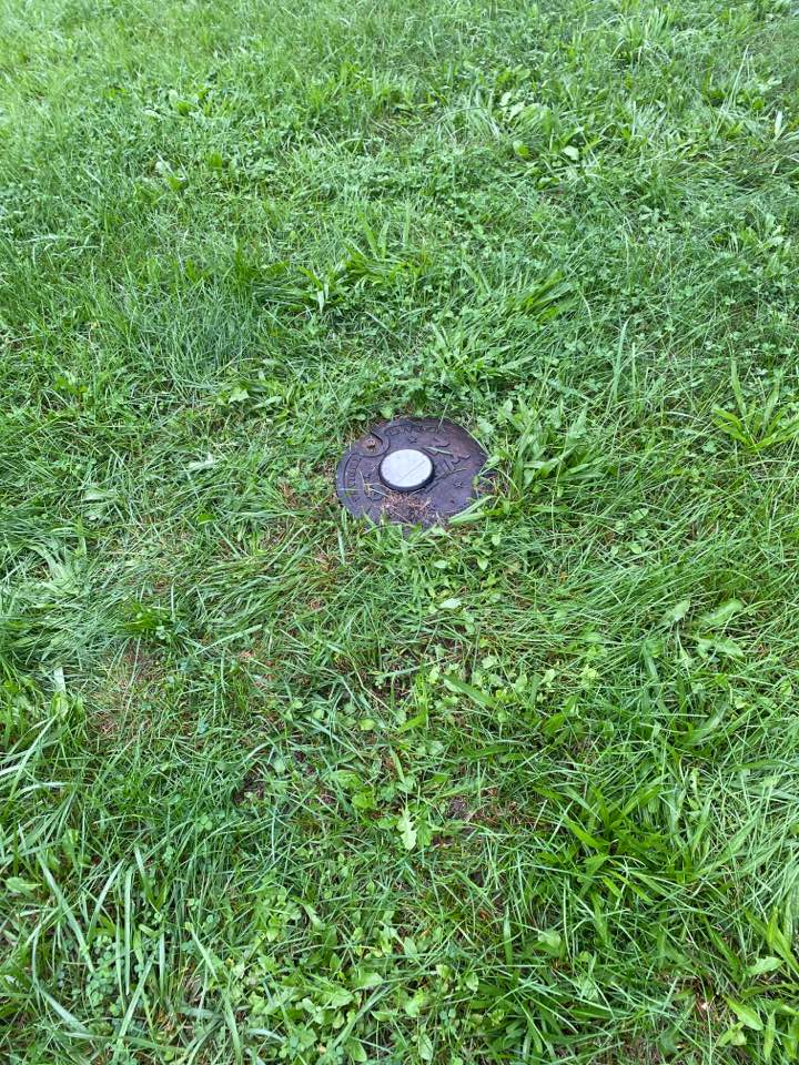Winchester, VA - Checking for underground water leak from water meter to home