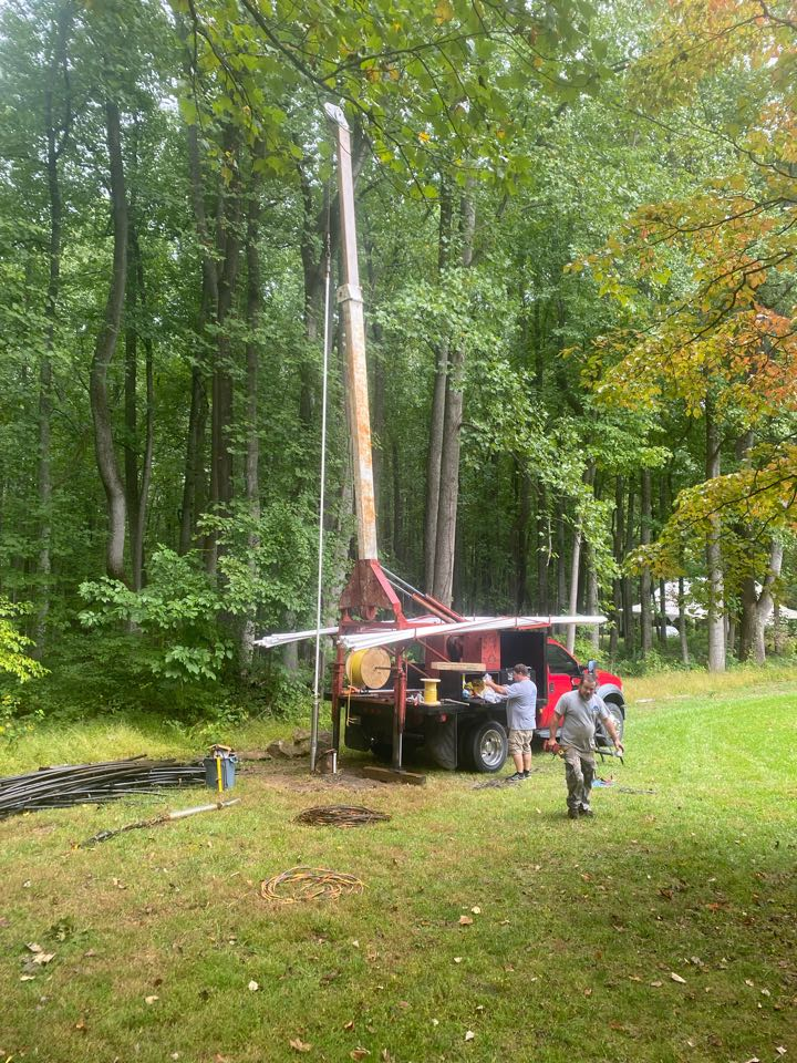 Markham, VA - Paul and replaced horse and a half well pump 640 feet deep