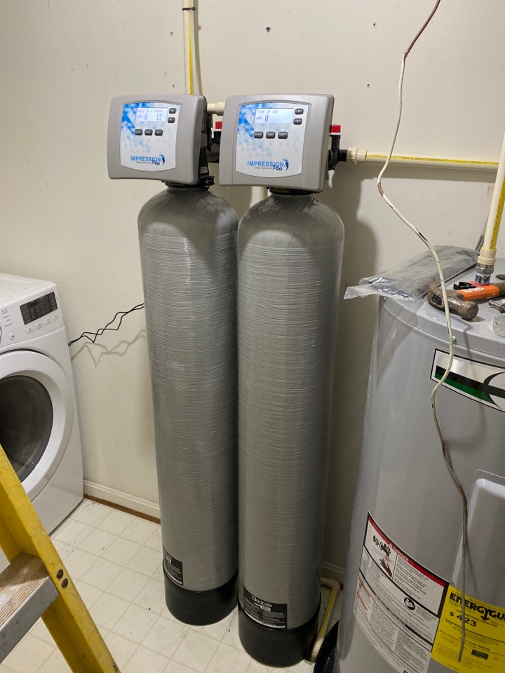Linden, VA - Another water treatment install