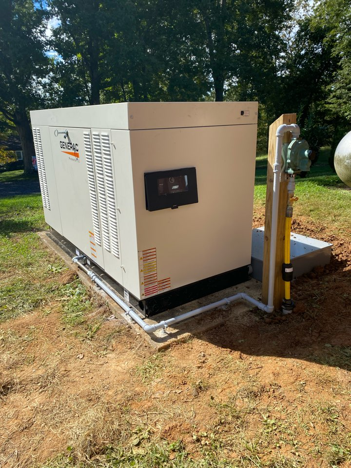 Winchester, VA - Another generator gas install