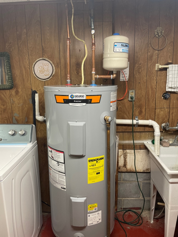 Stephens City, VA - Electric water heater replacement