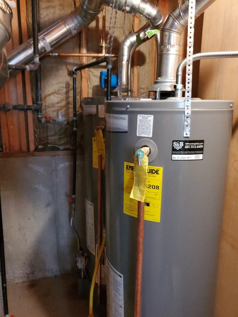Ogden, UT - Water heater and pump system