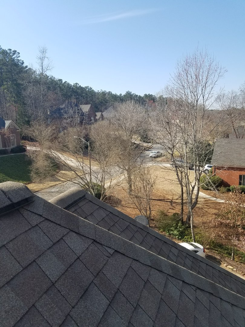Kennesaw, GA - Inspecting the home of a referral client in Kennesaw today. I never get tired of this view