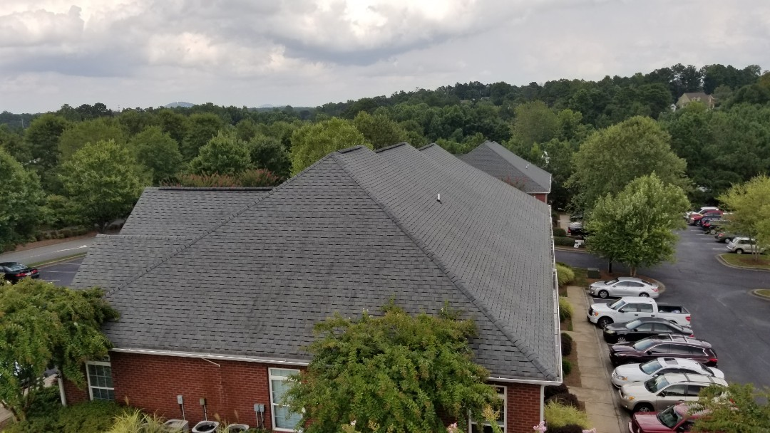Dallas, GA - A hot day today as we finalize our walk through with our client. This project is a referral from an infinity roofing contractors client. Thank you Don! Infinity Roofing Contractors can provide both residential and steep - slope commercial service with integrity and quality second to none!