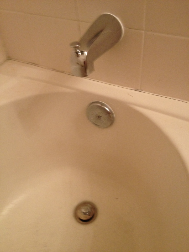 Stuart, FL - Replaced tub spout and repaired tub spud.
