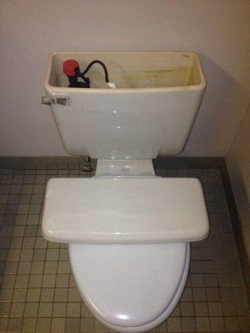 Indiantown, FL - Toilet tank plumbing repairs.