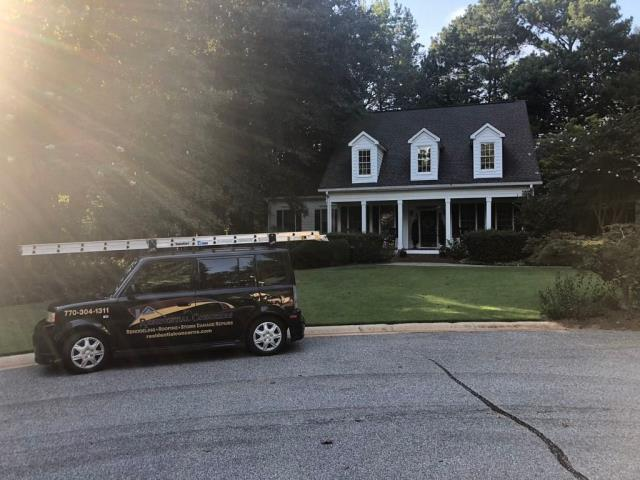 Newnan, GA - Residential Concerns on the job performing a FREE ESTIMATE!