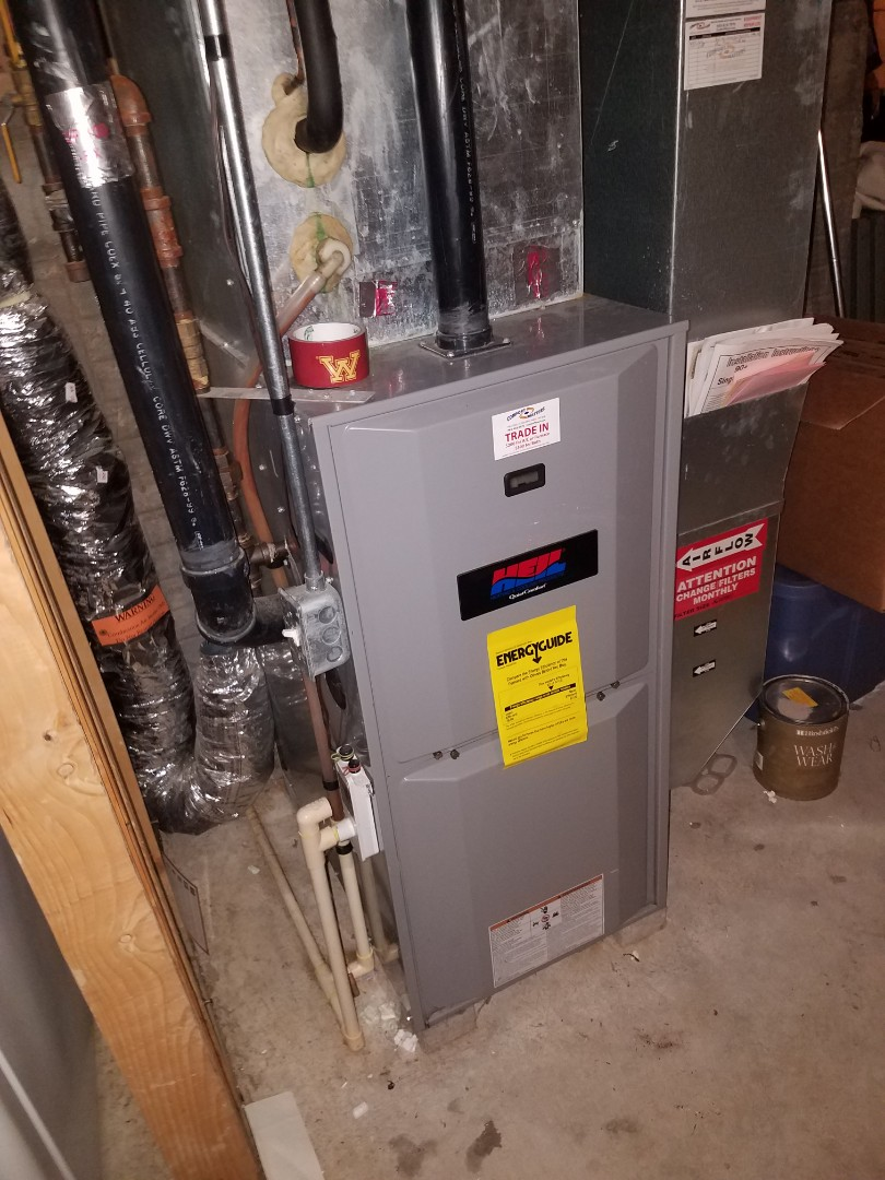 Albertville, MN - Furnace tune up and clean in Heil unit in Albertville