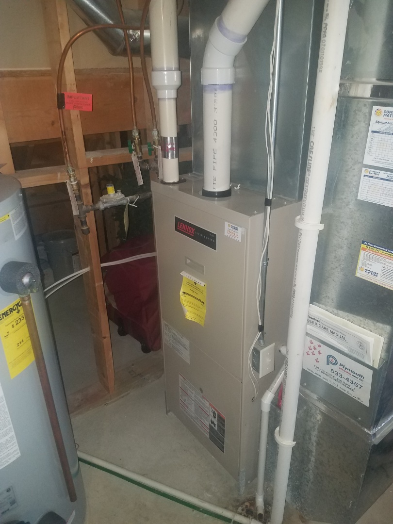 Hanover, MN - Furnace tune up and clean on Lennox unit in st. Michael