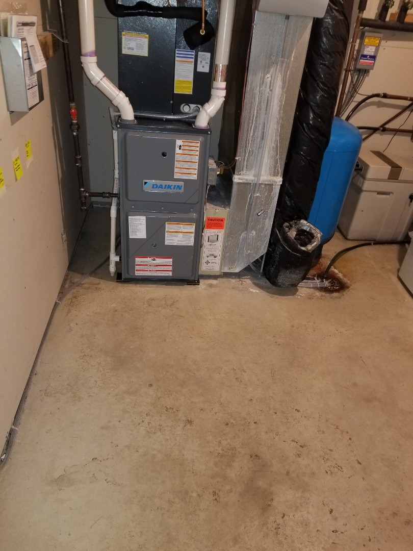 Buffalo, MN - New furnace install