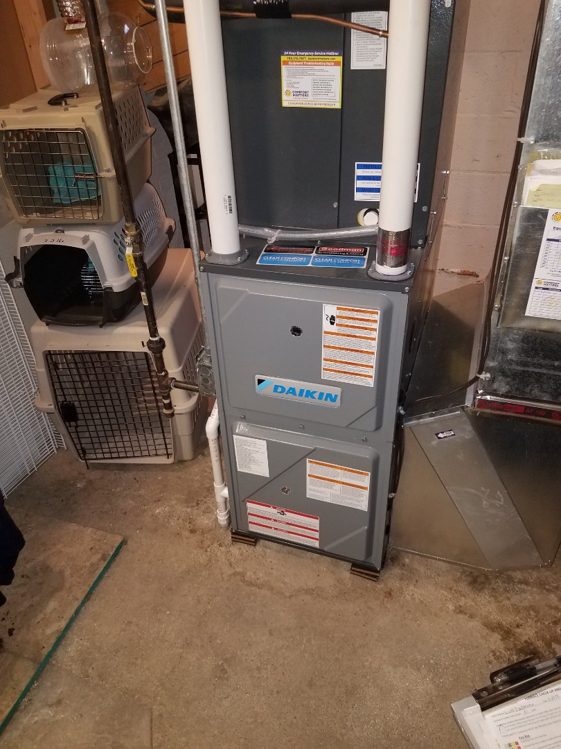 Delano, MN - Furnace tune up and clean on daikin unit in Delano