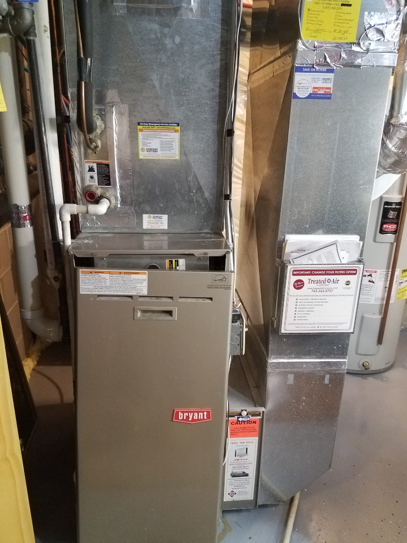Saint Michael, MN - Diagnosed furnace and performed repaid on flue pipe obstruction