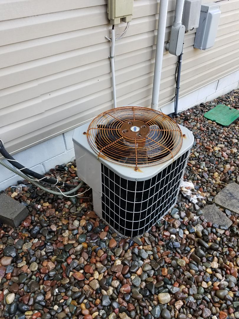 Rogers, MN - Air conditioning tune up and cleaning on carrier air conditioner
