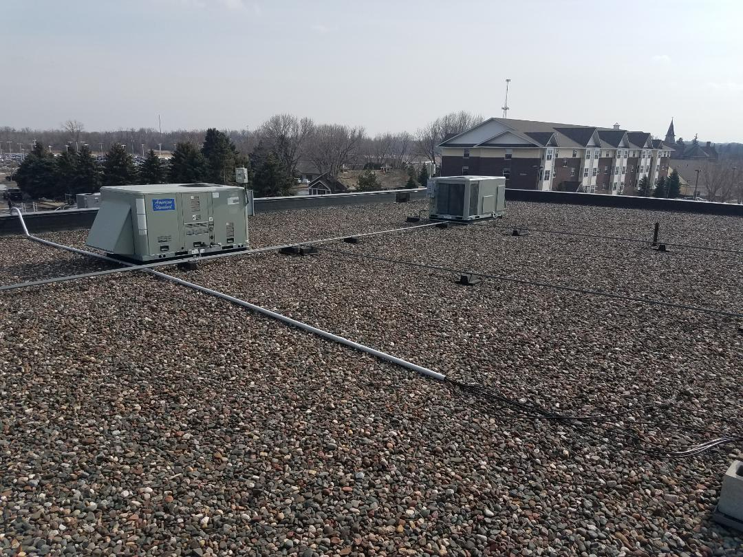 Saint Michael, MN - Commercial spring maintenance in rooftop units in albertville. Coil cleaning and tune up