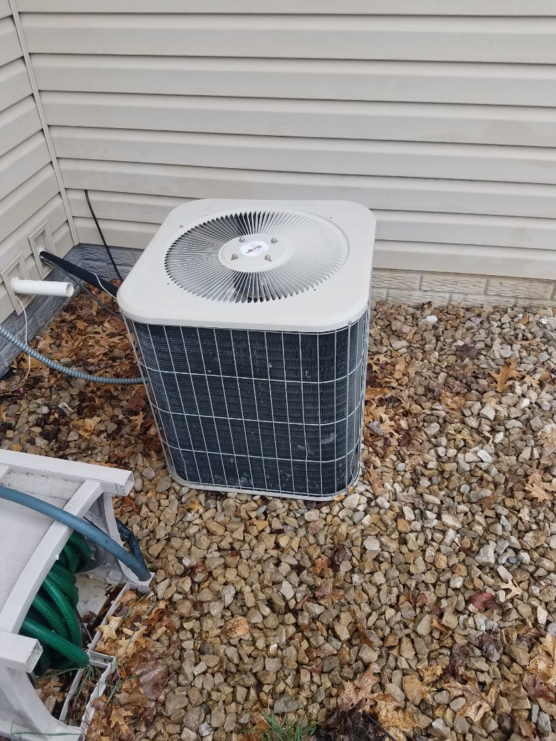 Elk River, MN - AC tune up and clean on Lennox unit in Elk River