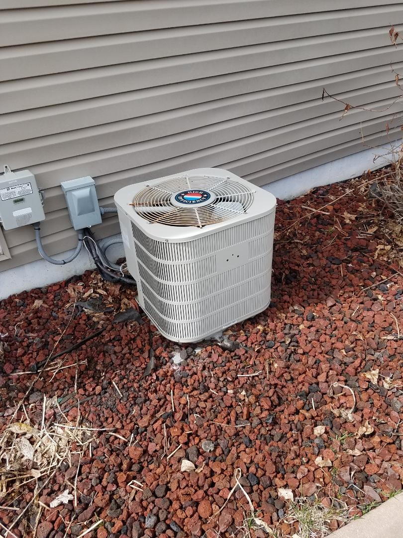 Otsego, MN - AC tune up and clean on carrier unit in St. Michael