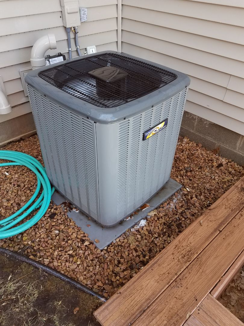 Albertville, MN - Air conditioning tune up and cleaning on amana air conditioner