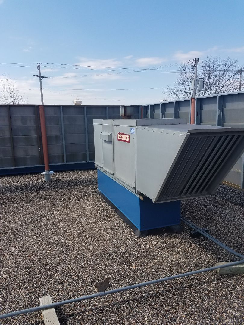 Albertville, MN - Replaced failed relay on Reznor make up air unit in Albertville