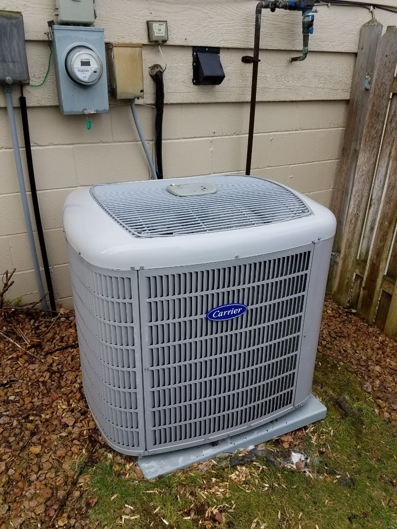 Buffalo, MN - Air conditioning tune up and cleaning on carrier air conditioner