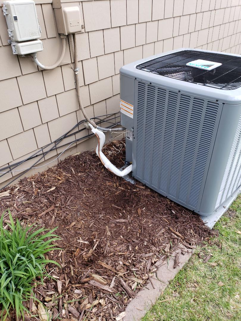 Plymouth, MN - AC install