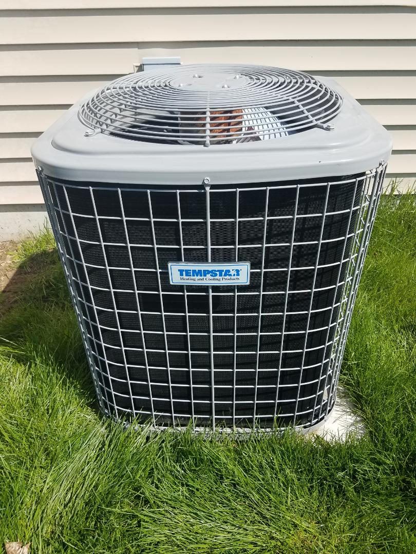 Otsego, MN - AC maintenance. performed cleaning and tune up on a Tempstar air conditioner.