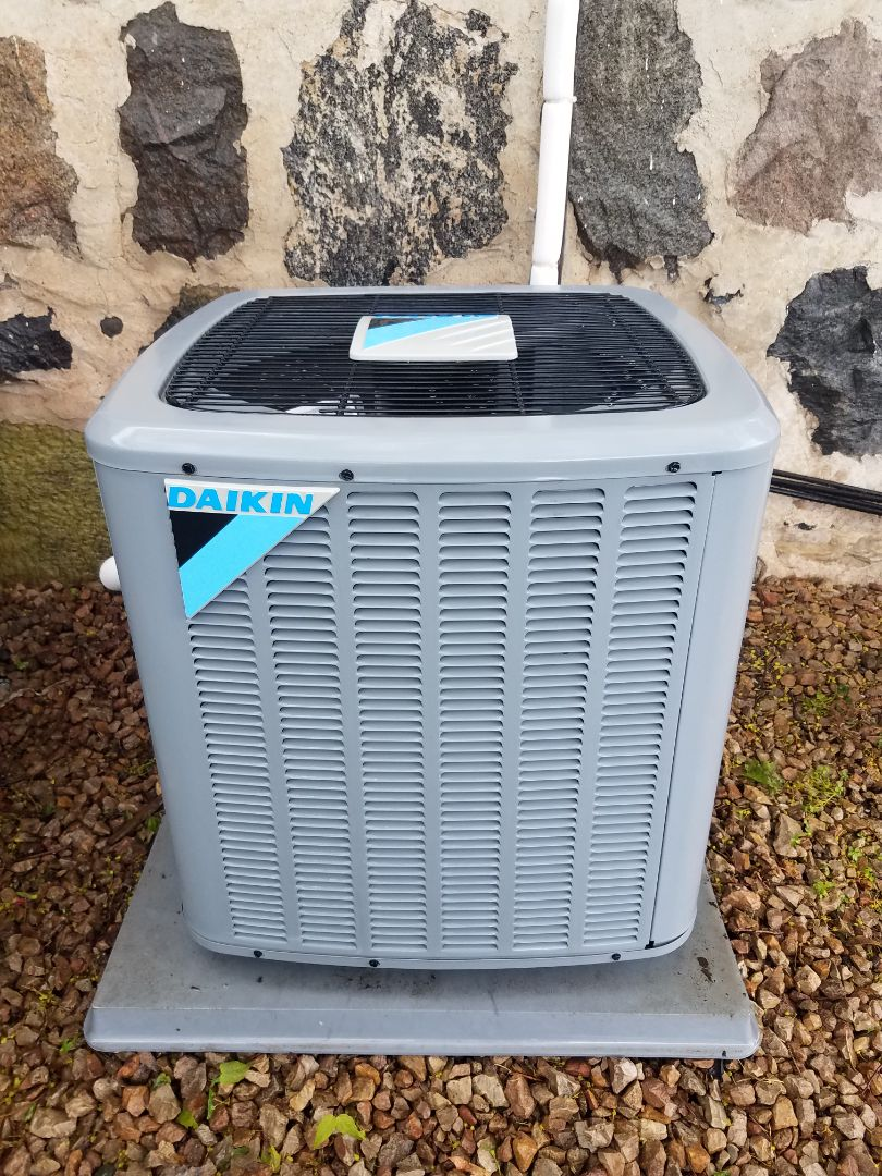 Buffalo, MN - AC maintenance. Performed cleaning and tune up on a Daikin air conditioner.