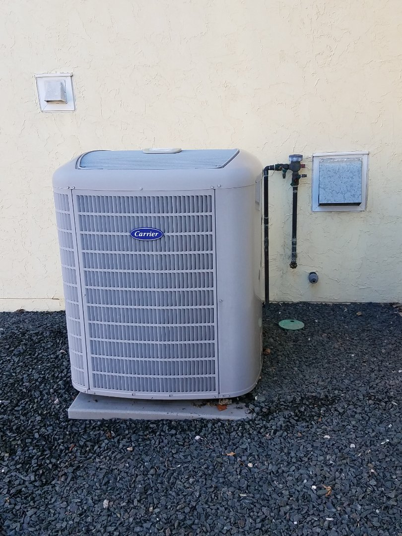 Mound, MN - Found carrier AC low on charge in Plymouth