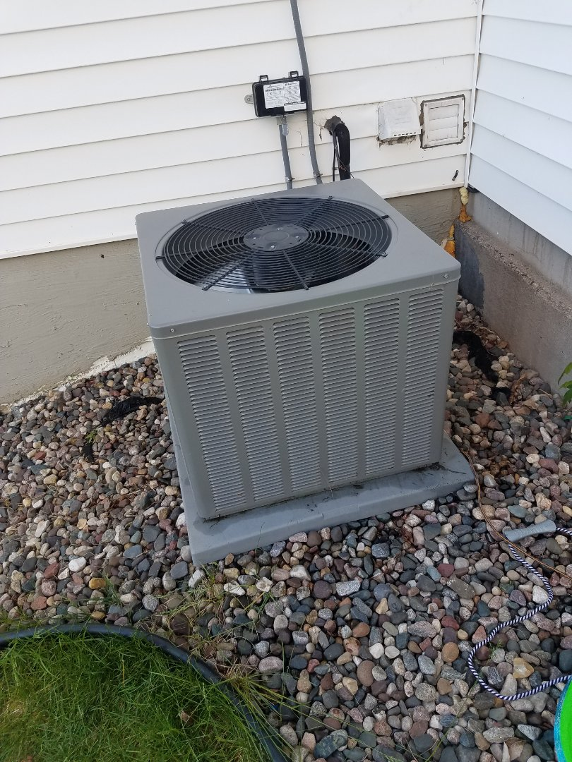Mound, MN - Charged Weatherking ac with refrigerant to return cooling operation in St. Michael