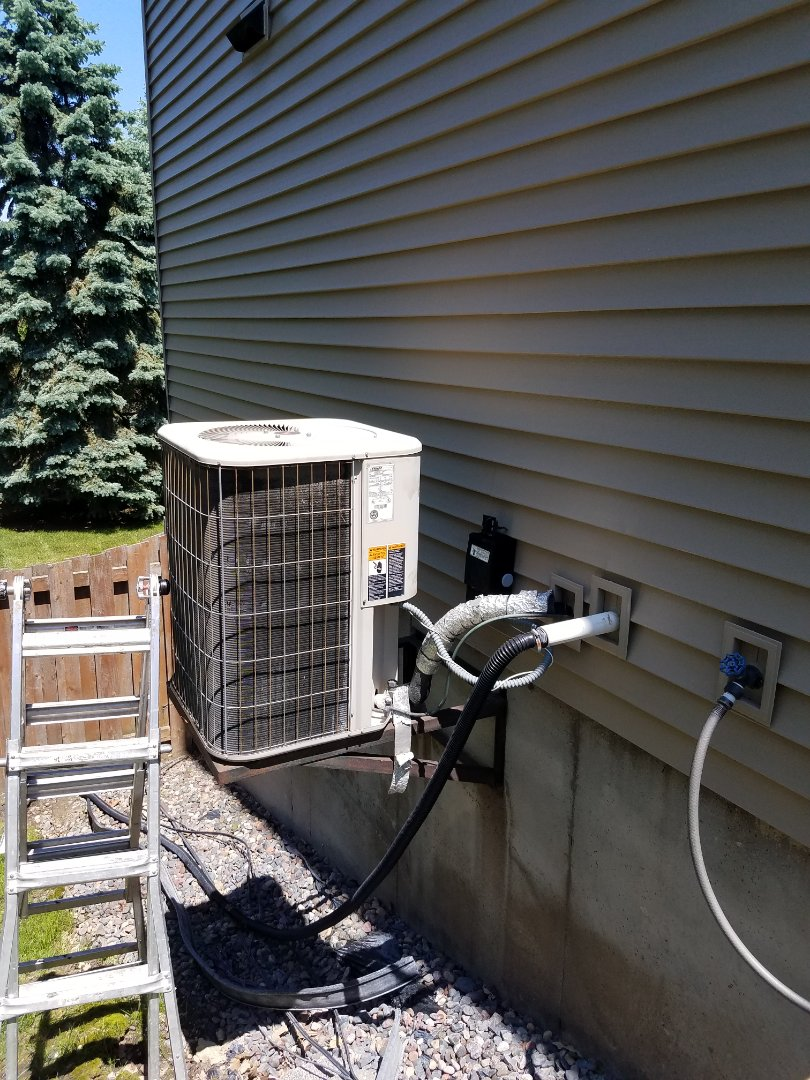 Plymouth, MN - AC tune up and clean on Lennox unit in Plymouth