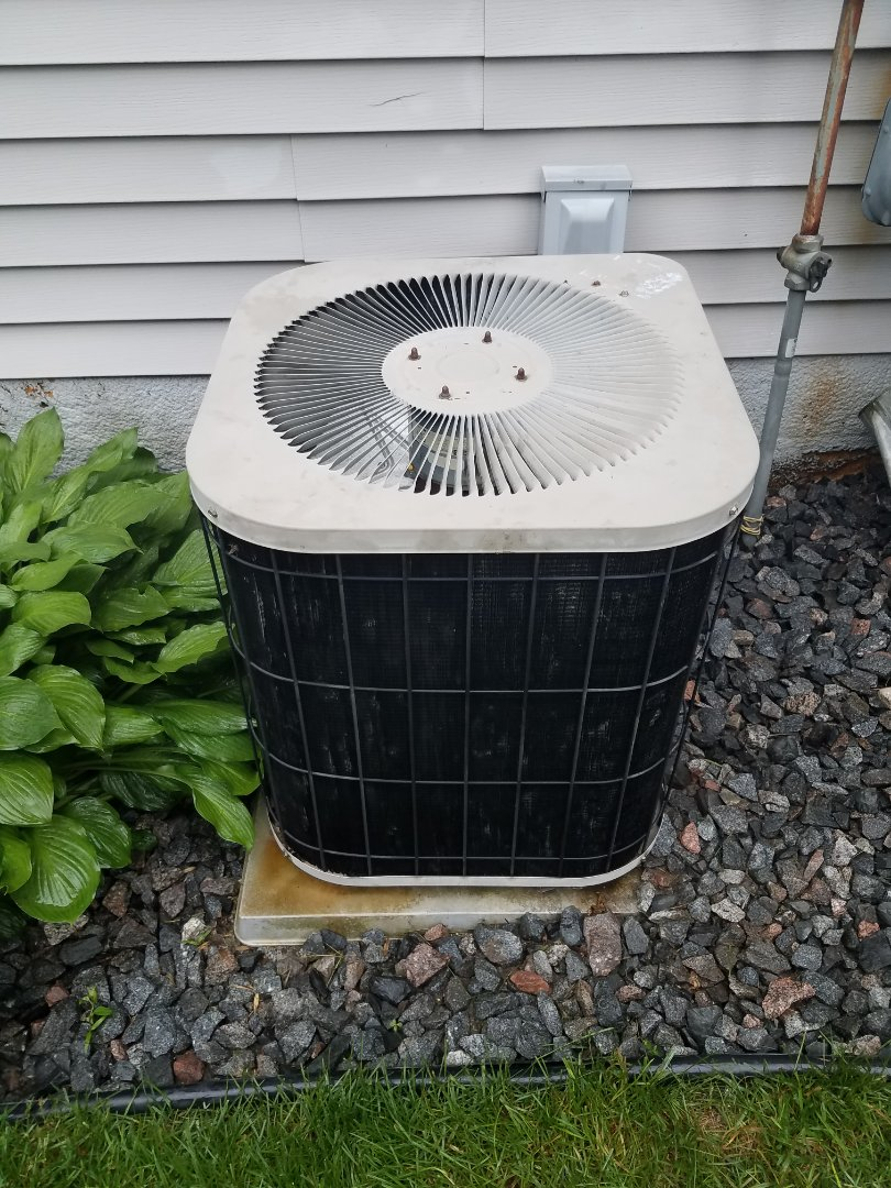 Delano, MN - Cooling maintenance. Performed diagnosis on a Goodman AC.