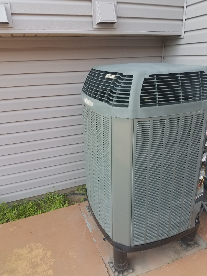 Brooklyn Park, MN - AC repair on Trane system in Brooklyn Center