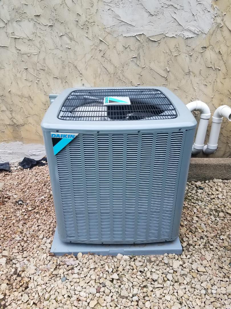Orono, MN - Cooling maintenance. Performed tune up and cleaning on a Daikin.