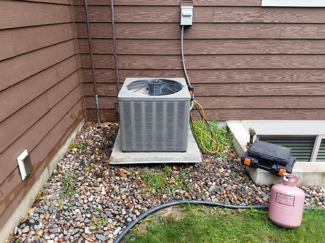 Plymouth, MN - AC repair on weather king unit in Plymouth