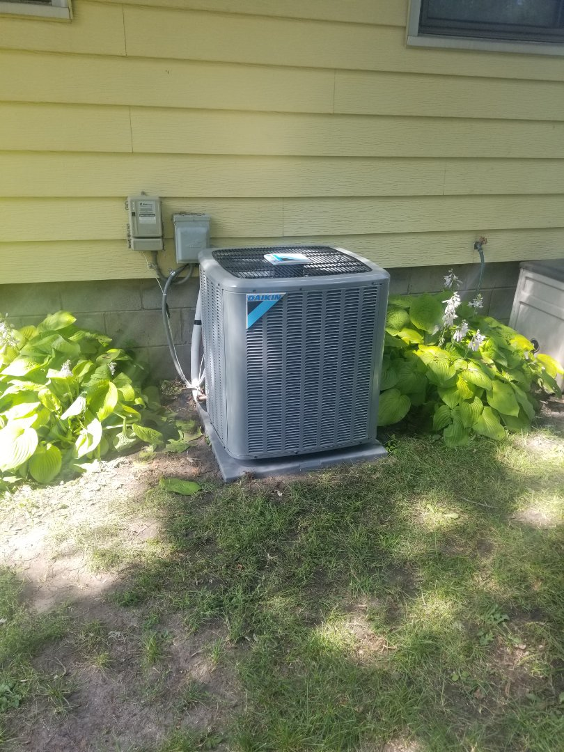 Fridley, MN - New AC and Furnace install
