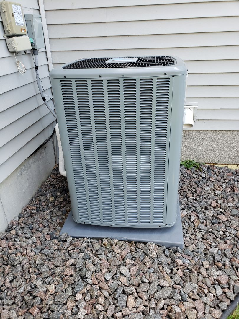 Otsego, MN - New furnace and air conditioner install