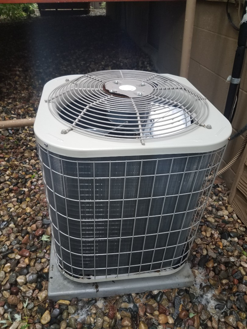 Maple Grove, MN - AC maintenance. Performed diagnostics and minor wiring repair on a Carrier air conditioner.