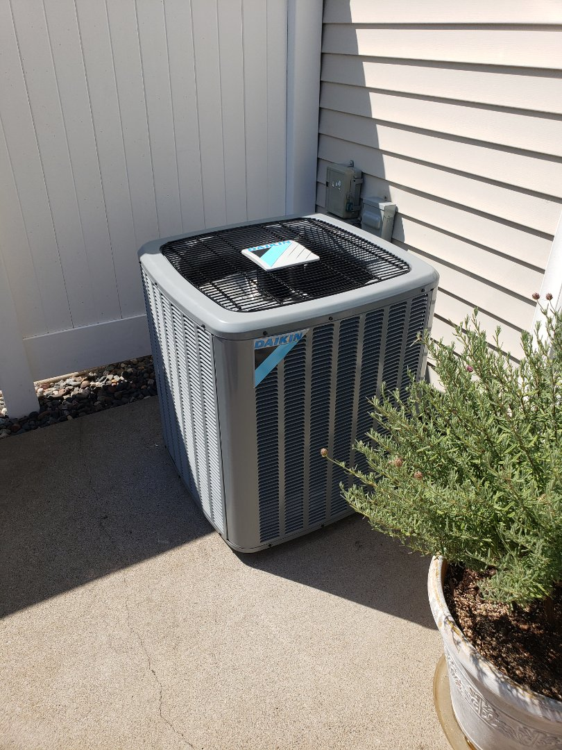 Coon Rapids, MN - New system install