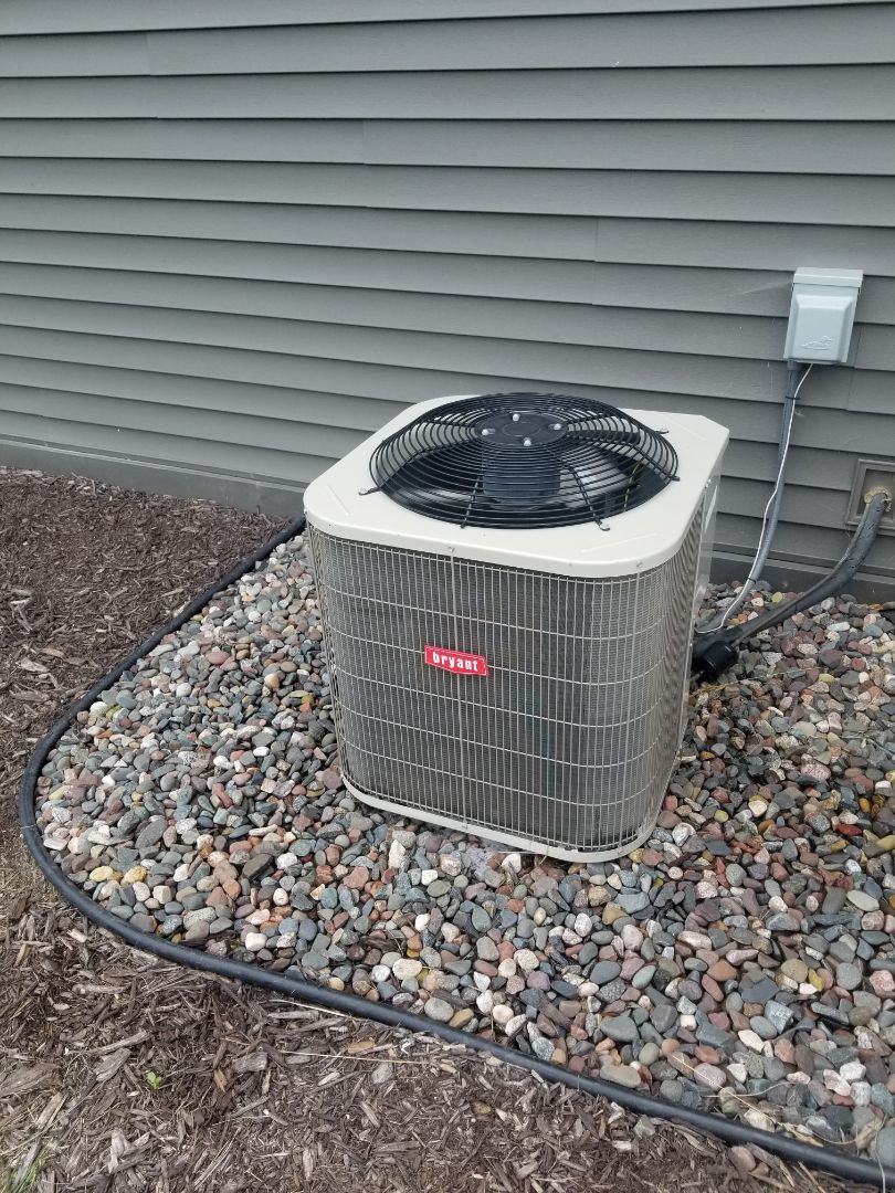 Rogers, MN - Tune up and cleaning on Bryant AC