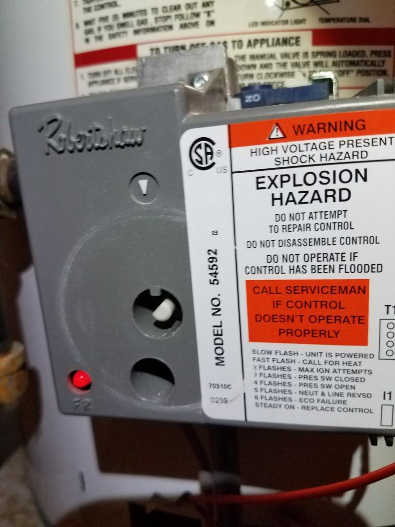 Otsego, MN - Water heater service in Rheem unit in Otsego