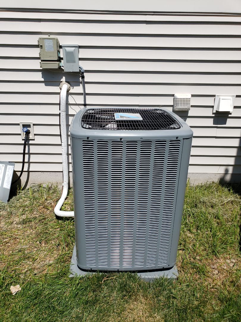 Loretto, MN - Install air conditioner